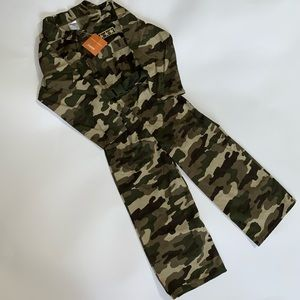 Gymboree New with tags Camo Army Costume 2007